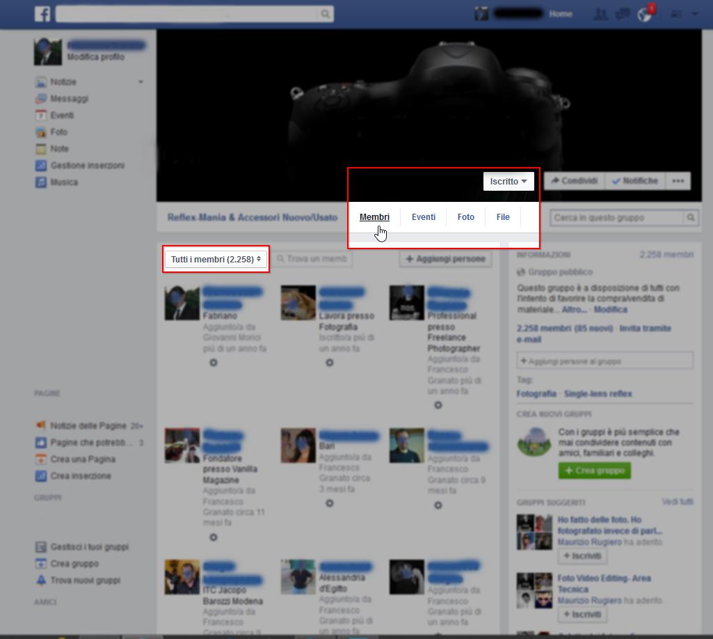 Facebook Group Inviter