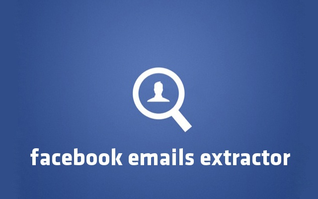 Facebook Emails Extractor