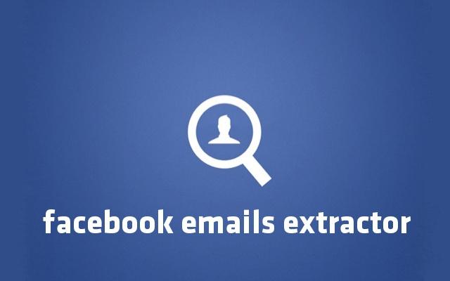 Facebook Emails Extractor